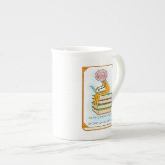 So Many Books to Write Tea Cup