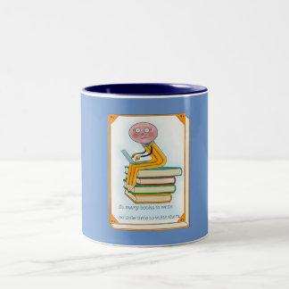 So Many Books to Write Two-Tone Coffee Mug