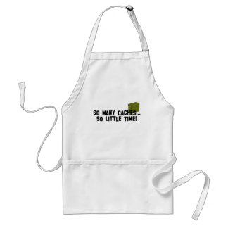 So Many Caches... Adult Apron