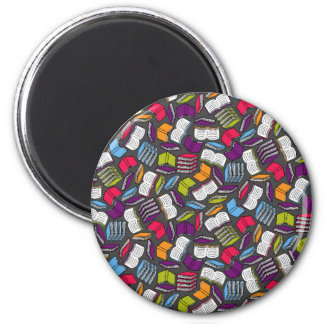 So Many Colorful Books... Magnet