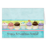 So Many Cupcakes!  Custom Cake Business Note Card