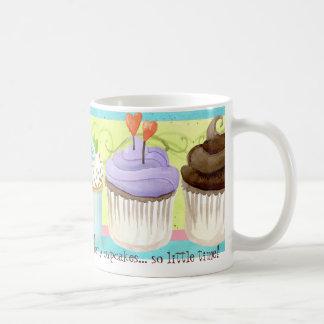 So Many Cupcakes, so Little Time!  Cupcake Art Coffee Mug