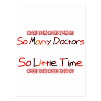 So Many Doctors Postcard