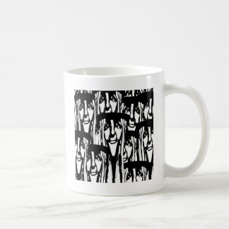 So Many Faces Coffee Mug