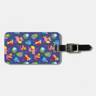 So Many Feelings Pattern Luggage Tag