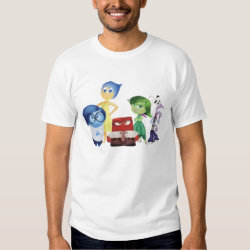 according to the tee shirt a man with many emotions