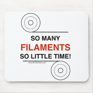 So many Filaments for your mouse! Mouse Pad