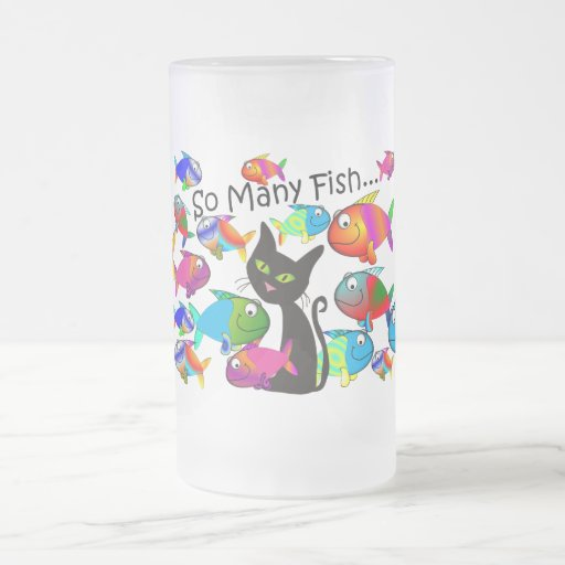 So many fish cat lovers gifts mug zazzle for Gift ideas for fishing lovers