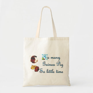 So many Guinea Pigs ...so little time Tote Bag