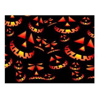 So Many Halloeen Pumpkins Postcard