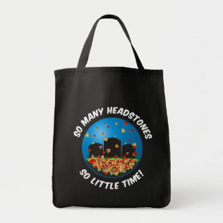 So Many Headstones... Grocery Tote Bag