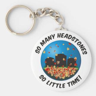 So Many Headstones Key Chains