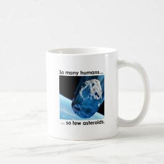 So Many Humans, So Few Asteroids Mug