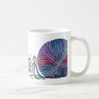 So many loose ends... ladybug and yarn mug