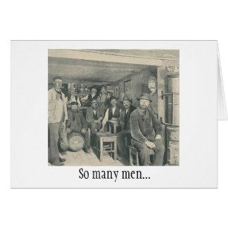 So Many Men Card