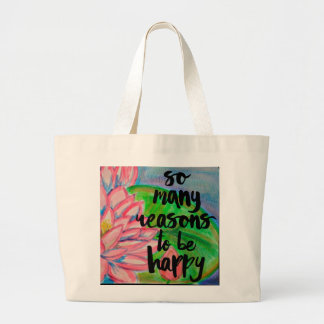 So many reasons to be Happy TOTE (YZQ)