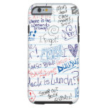 So Many School Doodles iPhone 6 Case