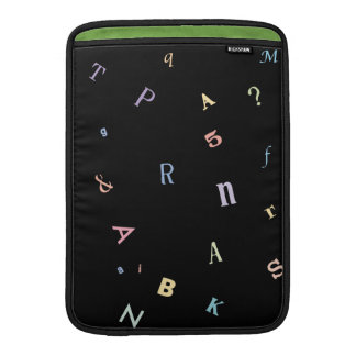 "So Many Words Reading Woman 13"" Vertical MacBook Sleeve"