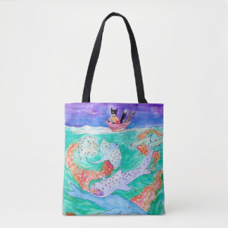 So much below the surface! tote bag