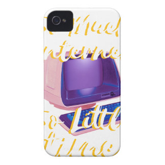So Much Internet So Little Time iPhone 4 Cover
