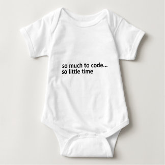 So Much To Code... Baby Bodysuit