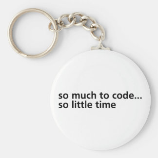 So Much To Code... Keychain