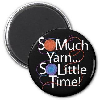 So Much Yarn 2 Inch Round Magnet