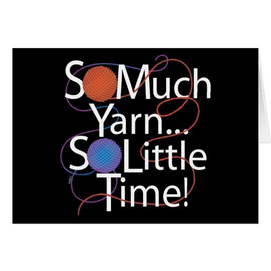So Much Yarn Card