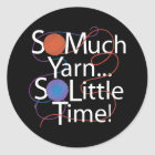 So Much Yarn Classic Round Sticker
