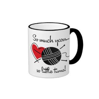 So Much Yarn Ringer Coffee Mug