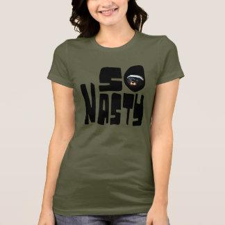 So Nasty! Funny Honey Badger Saying T-Shirt