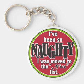So Naughty Keychain