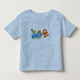 So Ninja Orange Ringer T-Shirt