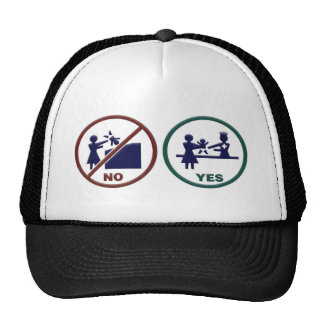 So No To Dumpster Trucker Hat