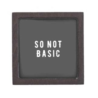 So not basic keepsake box