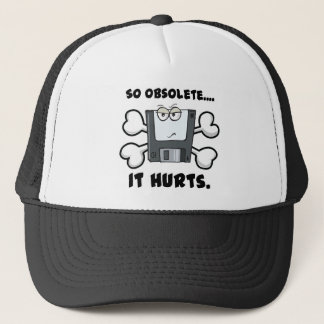 so obselete it hurts trucker hat