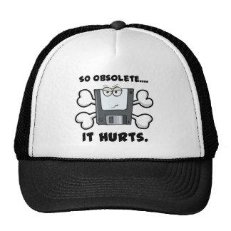 so obselete it hurts trucker hat