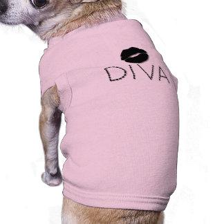So Pretty Grunge Dog Ribbed Shirt Dog Tee Shirt