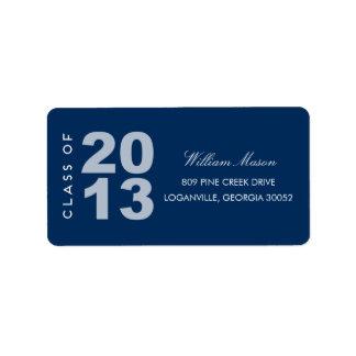 So Proud Graduation Address Label Labels