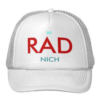 SO RAD NICH - CUSTOMIZABLE CAP by eZaZZleMan Mesh Hats