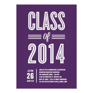 So Retro Graduation Party Invitation