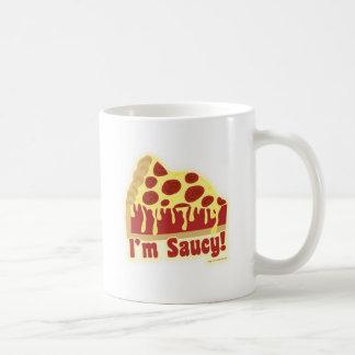 So Saucy Deep Pizza 2-sided Coffee Mug