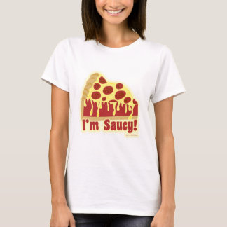 So Saucy Deep Pizza T-Shirt
