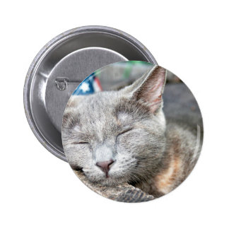 So so tired pinback button