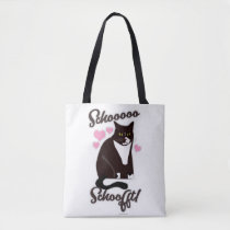 So Soft Funny Cat Slogan Tote Bag