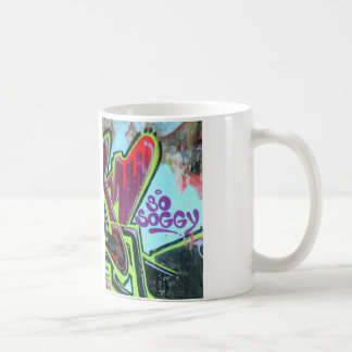 so soggy graffiti mug