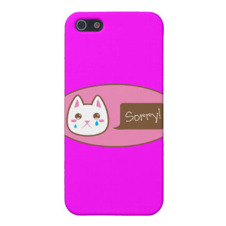 So sorry CAT! Cover For iPhone SE/5/5s