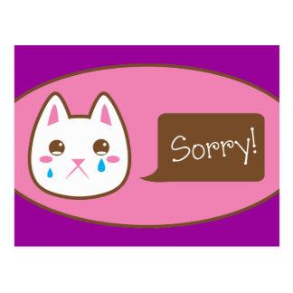So sorry CAT! Postcard