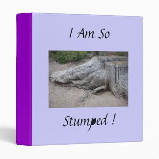 So Stumped Binder