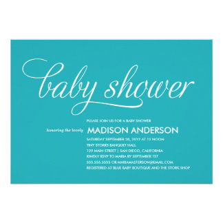 SO SWEET | BABY SHOWER INVITATION